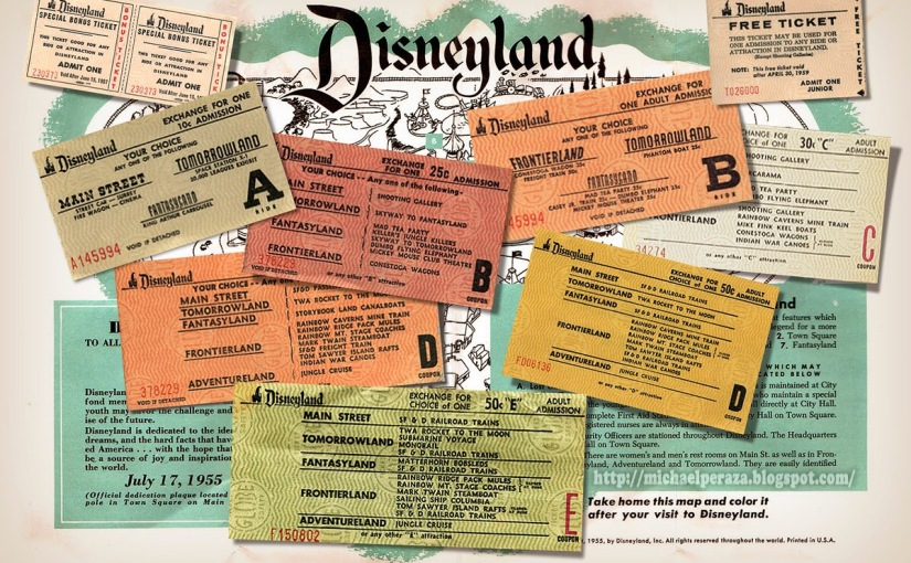 Disneyland, my favorite road trip then and now